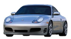 99 01 Porsche 996 Turbo Look Duraflex Front Body Kit Bumper 107075