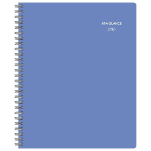 At a glance Weekly Monthly Appointment Book Planner 2016 8 5 X 11 Inches D