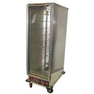Win holt Nhpl 1836c Full Height Mobile Non insulated Heater Proofer Cabinet