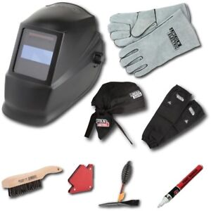 Lincoln Electric Auto Darkening Welding Helmet Kit