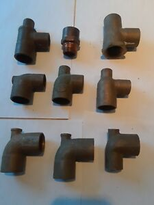 1 Copper Brass Plumbing Fittings T s Radiator T s