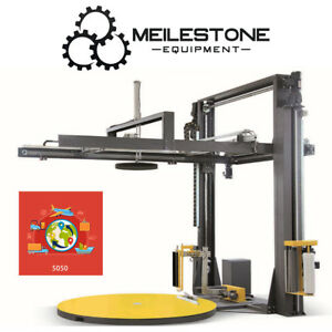 Meilestone Ps k200 Fully Automatic Stretch Wrapping Machine Top Sheet Covering