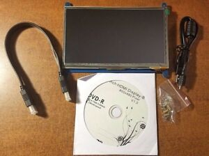 Raspberry Pi 7 Inch Lcd Touch Screen Module 800x480 Tft Display Hdmi For Pi3 Pi2