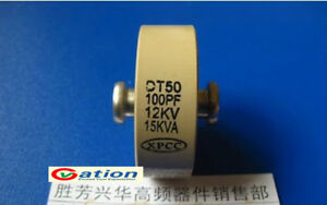 For Xpcc Dt50 100pf 12kv 15kva High Frequency Voltage Ceramic Capacitor