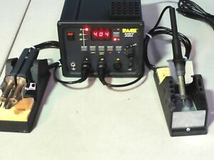 Pace Mbt 250 Soldering Rework Station W 2x Soldering Iron Rarely Used Tested