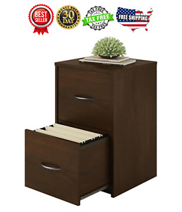 File Cabinet 2 Drawer Storage Document Holder Organizer Office Northfield Alder