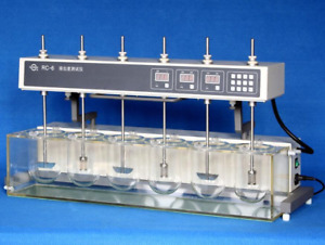 Dissolution Tester Tablet Capsule Dissolution Tester Six Vessels Rc 6 B