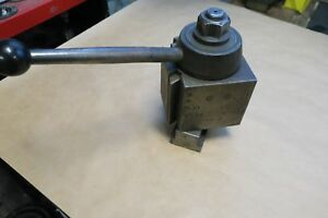 Aloris Ea Super Precision Tool Post Lathe Swing 25 And Larger