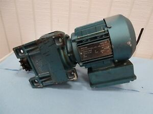 Sew eurodrive Dft71d4 Electric Motor 5hp 3ph 1700rpm With Reducer 84 61