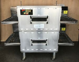 2011 Middleby Marshall Ps640g Double Stack Direct Fired Gas Conveyor Oven