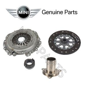 New Mini Cooper S R53 2002 2004 Set Of Clutch Kit And Guide Sleeve Genuine