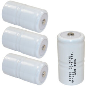 4 pack Battery For Tif Series Combustible Gas Detector Meter Test Equipment