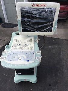 2012 Mylab 40 Veterinary Ultrasound Machine W la523 Ca123 Probes excellent