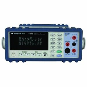 B k Precision 5491b True Rms Bench Digital Multimeter 50000 Count With A Nist t