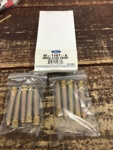 Ford Racing Front Wheel Studs Fr500s 10 Pack M 1107 a