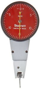 Starret Swivel Head Dial Test Indicator 0 0 03 Range 0 0005 Grad 0 15 0 Read