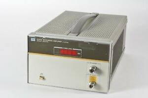 Agilent Hp 8349a Microwave Amplifier 2 20 Ghz Tested Working