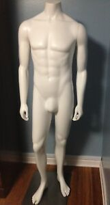 Male Full Body Mannequin 5 Feet 5inches Detacheable Arms Metal Base
