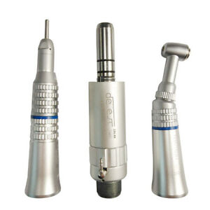 Nsk Style Dental Slow Low Speed Handpiece Straight Contra Angle Air Motor 2 Hole