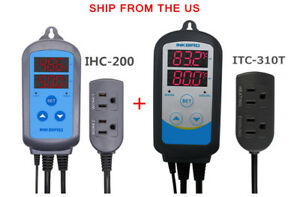 Digital Temperature Controller Timer Itc 310t Humidity Controler Ihc 200 110v