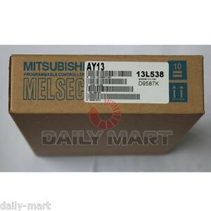 Mitsubishi Plc Melsec a Relay Output Module Ay13 New In Box Nib Free Ship