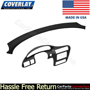 Coverlay Dash Board Cover 2pc Kit Black 18 725vc27 Blk For Cavalier