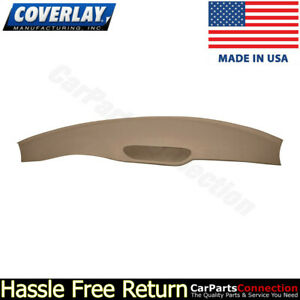 Coverlay Dash Board Cover Light Brown 18 702 lbr For 1997 2002 Chevy Camaro