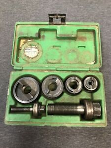 Greenlee Slug Buster Knockout Punch Set 7235bb used Free Shipping