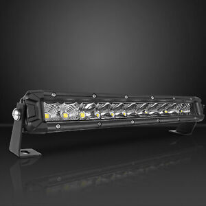 Curved 50 Inch 1200w Led Light Bar Driving Lamp Truck Spot Flood Offroad 52 54
