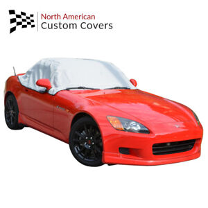 Rp134g Honda S2000 Convertible Soft Top Roof Protector Half Cover 1999 To 2009