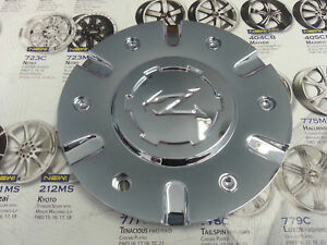 1 Zinik Z9 Wheel Chrome Center Cap Z 9 Cap z090 61452085f 1 W Screw D 6 3 4