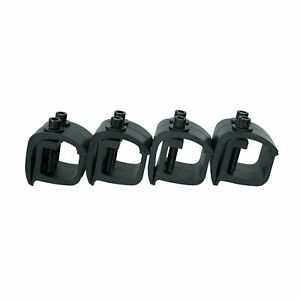 Set Of 8 Aluminum Mounting C Clamps For Non Drilling Camper Shell Truck Rack