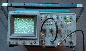 Tektronix 2467 350 Mhz Oscilloscope Calibrated Sn b011504 30 Days Warranty