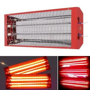 2 Sets Spray Baking Booth Infrared Paint Curing Lamp Heating Light For Car Body
