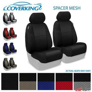 Coverking Spacer Mesh Front Row Custom Seat Cover For 2016 2018 Honda Pilot