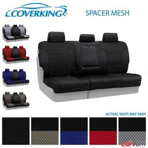 Coverking Spacer Mesh Rear Row Seat Cover For 2010 2012 Porsche Panamera