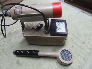Ludlum Model 3 With 44 3 And 44 9 Probes Geiger Counter Survey Meter Radiation