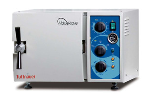 Tuttnauer 1730 Valueklave Manual Autoclave New 1 Year Warranty