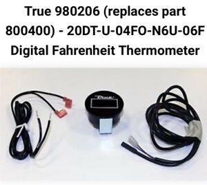 True 980206 Digital Thermometer Replaces The Red 800400 Or 20dt u 04fo n6u 06f