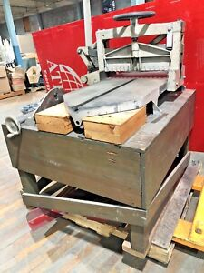 Challenge 193 Pony Lever 19 Paper Cutter Manual Guillotine Industrial Cast Iron