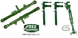 3 Point Hitch Top Link Lift Arms Adjustable Uprights John Deere 520 530