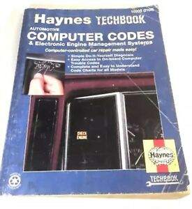 Haynes Techbook Automotive Computer Codes 10205 Electronic Engine Systems
