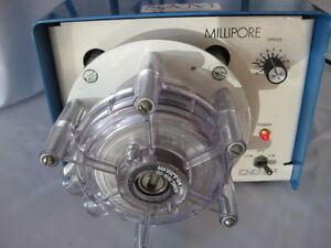 Peristaltic Pump Millipore Model Xx80 Elo 00 W Masterflex Ink Pump Head 7019 20