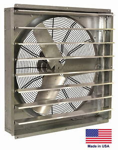Exhaust Fan Commercial Direct Drive 30 1 2 Hp 115v 1 Spd 6 800 Cfm
