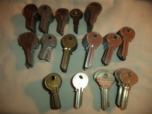 134 Nos ro re r Key Blanks Ilco Cole Taylor Jeco Curtis