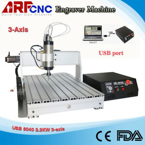 Cnc Router 6040 2200w 3 axis Engraver Engraving Milling Machine With Cnc Handle