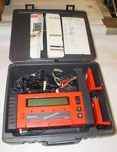 Snap On Mt2500 Diagnostic Scanner Tool With Case Manuals