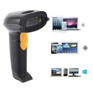 Nadamoo Bluetooth Wireless Barcode Scanner Supports Windows Mac Os Android Ios 1