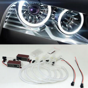 Angel Eyes Halo 131 146mm Light Ring Bulb White For Bmw 3 Series E46 Ccfl Pretty