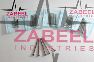 Cortical Screws 1 5mm Self Tapping Different Length 50 Pcs Full Set Zabeelind